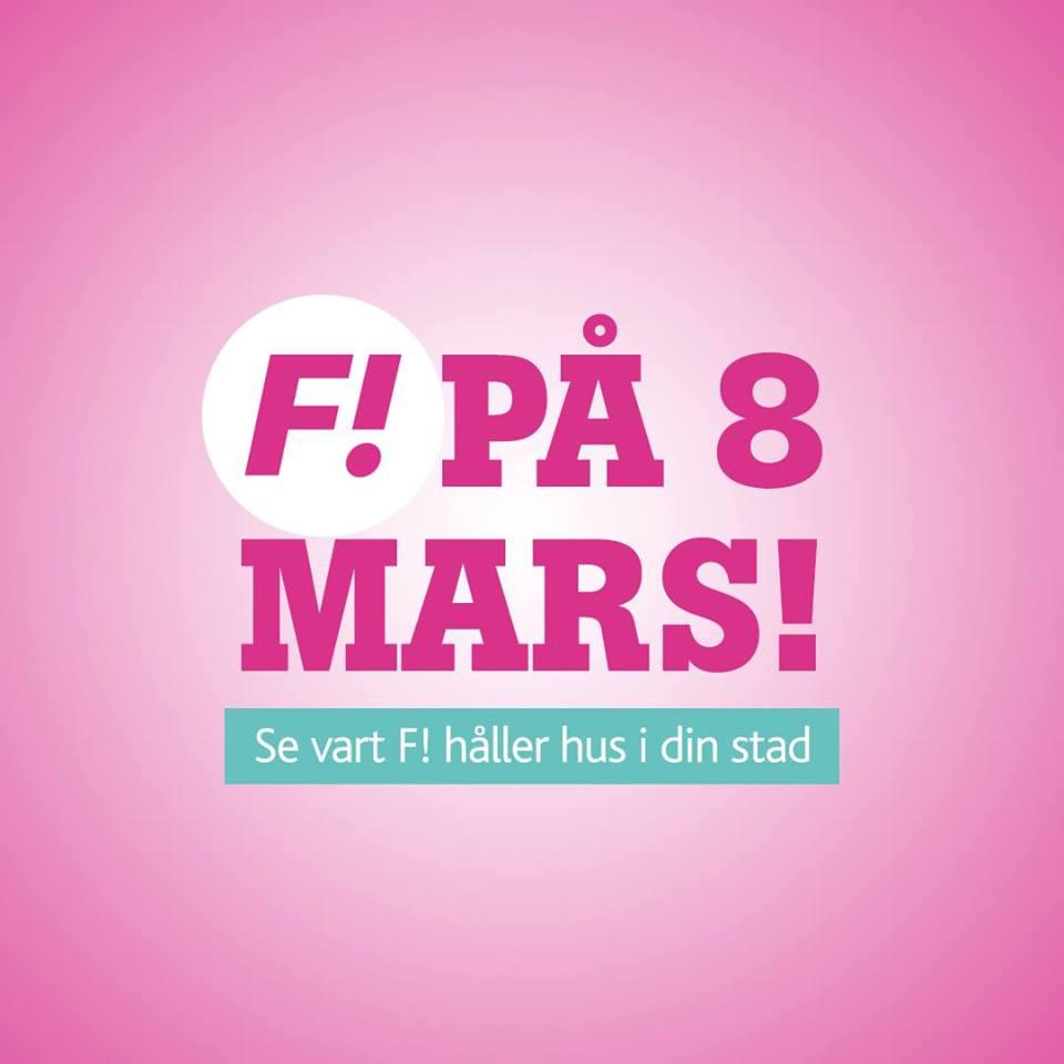 F! 8 Mars