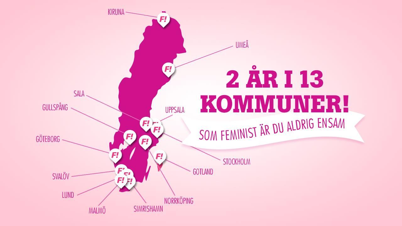 Som feminist är du aldrig ensam