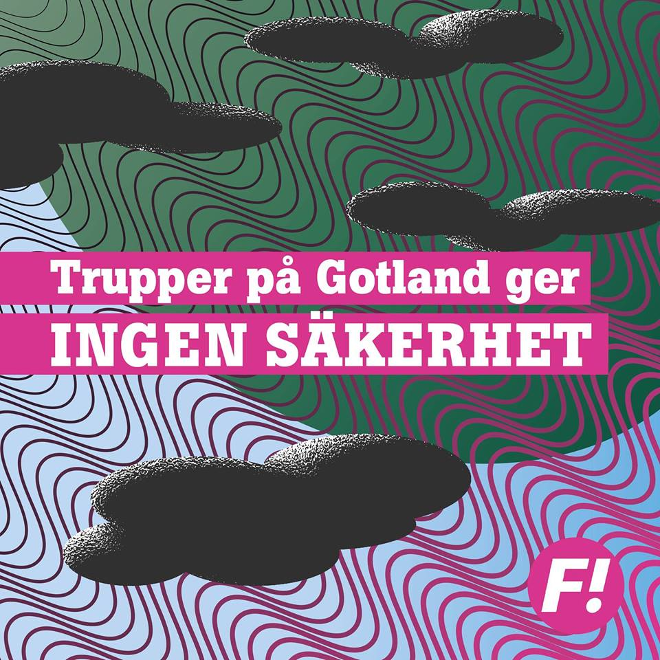 Trupper på Gotland ger ingen säkerhet