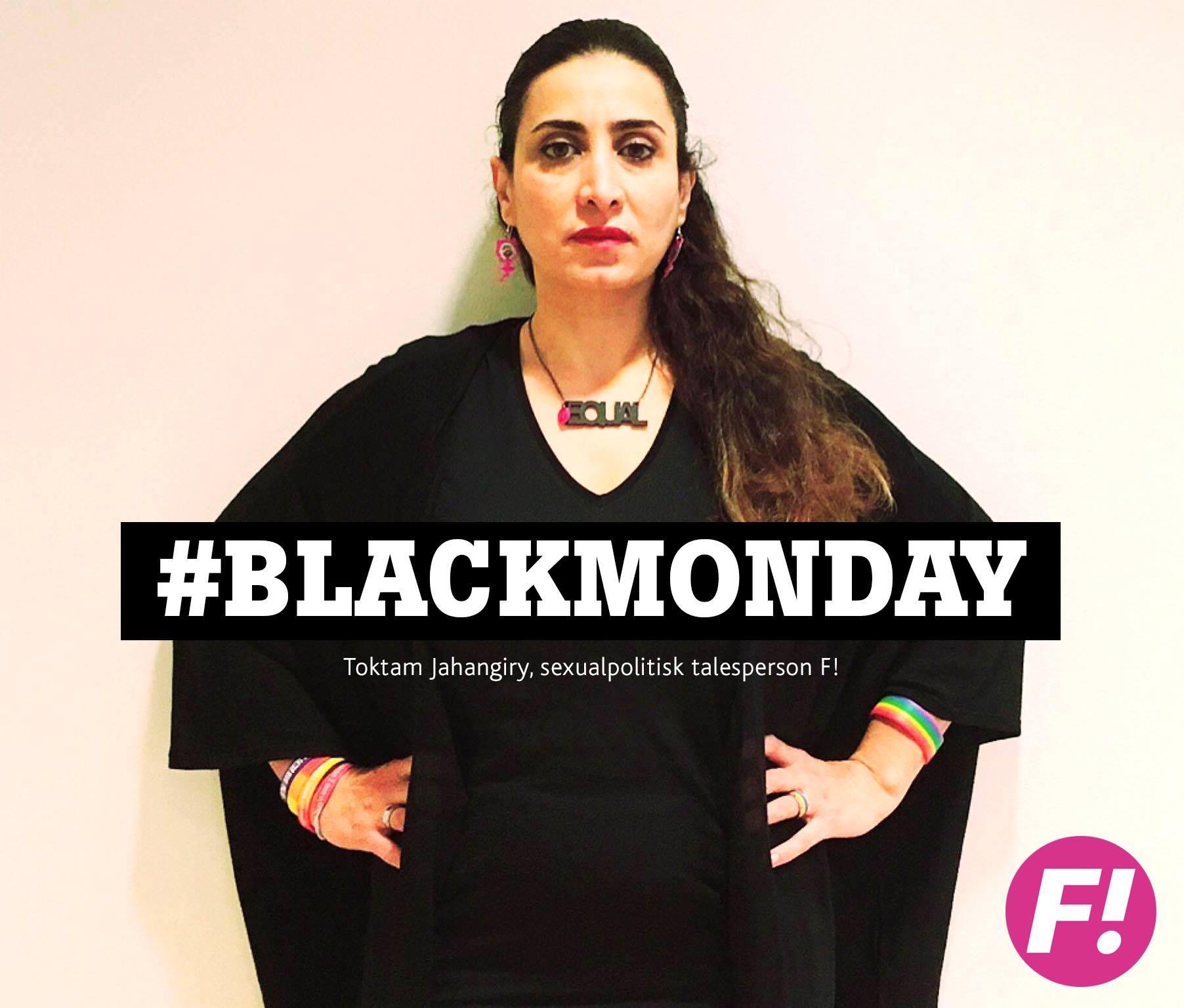 Toktam Jahangiry #blackmonday